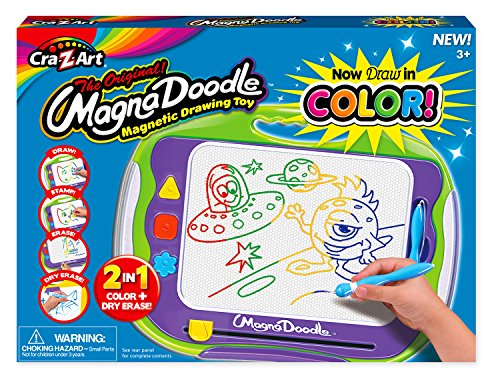 - Cra-Z-Art Color Magnadoodle Deluxe Activity Toy