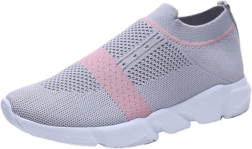 Zapatillas de Running para mujer deportivas verano nuevos zapatos blancos pequeños de malla grande tamaño transpirable zapatos ligeros zapatos para estudiantes,Gray,38: Amazon.es: Ropa y accesorios