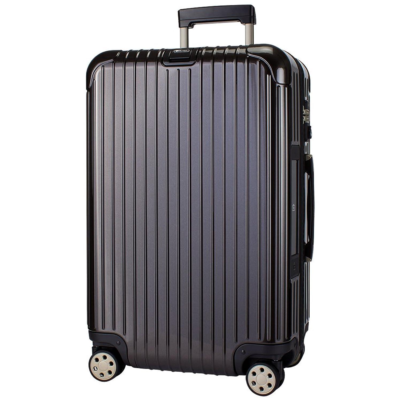 【E-Tag】 電子タグ RIMOWA [ リモワ ] SALSA Deluxe サルサデラックス 831.63.33.5 マルチホイール granite brown グラナイトブラウン MultiWheel 約61L [並行輸入品] B073P26W5Y