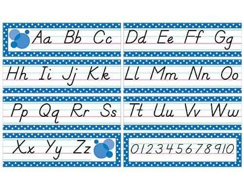 Teacher Created Resources Modern Printing Mini Bulletin Board, Blue (4092)