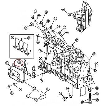 Jeep-Junta para piezas refrigerante Radiador DE aceite DE motor