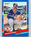 1991 Donruss #138 Dennis Lamp Red Sox MLB Baseball