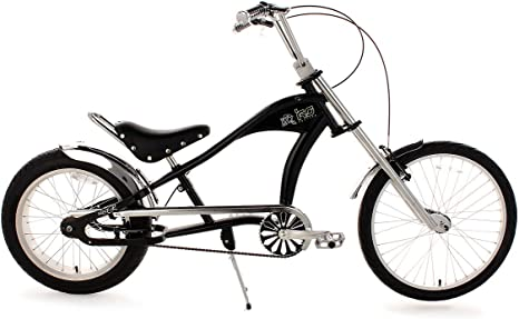 KS Cycling Chopper Bike R - Bicicleta, Cuadro 23 in, Color Negro ...