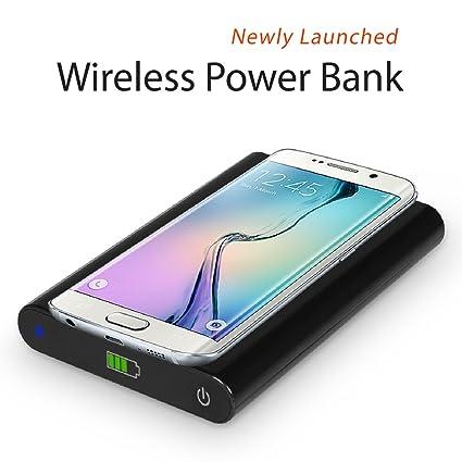 BELUGA Qi Wireless Charging Pad 7000mah Power Bank for