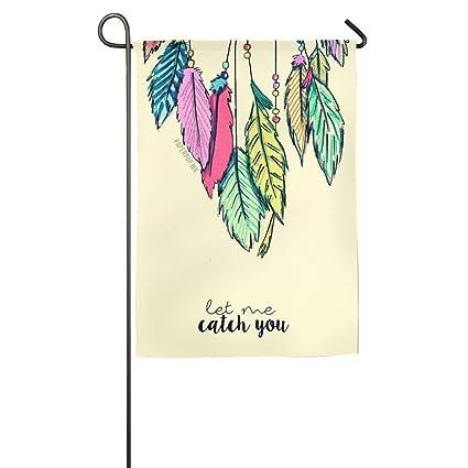 Amazon com: HJMY Custom Garden Flag Let Me Catch You Garden Flag 12