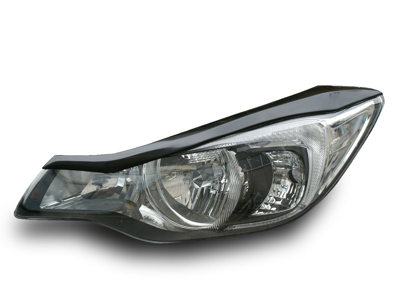 AMS 【日本製】 スバル インプレッサGP/GJ系 2011/11~ XV GP系 2012/10~アイラインガーニッシュ  素地 未塗装品 黒ゲルコート仕上げ 簡単装着[1B06063] 1B06063 B014FDHZR8
