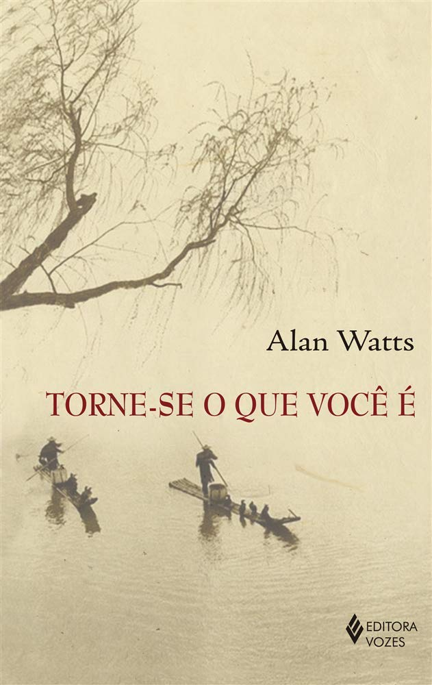 Livro 'Torne-se o que você é' por Alan Watts