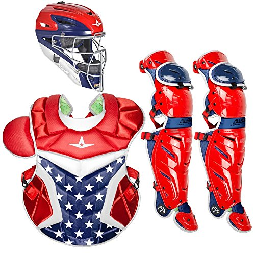 All-Star Adult System7 Axis USA Pro Catcher's Set