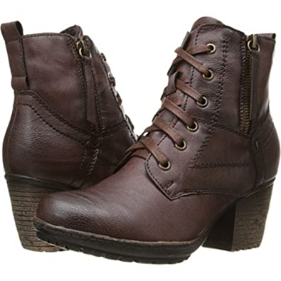 Womens Boots PATRIZIA Leatherette Brown