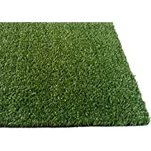 Zen Garden Grass Rug with Drainage Holes, 12'x 6'