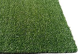 Zen Garden Grass Rug with Drainage Holes, Blade Height 0.4\