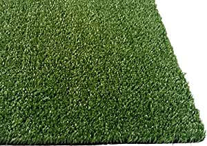 "Zen Garden Grass Rug with Drainage Holes, Blade Height 0.4"" (10mm), 27 oz/sq. yard, 12 ft x 6 ft"