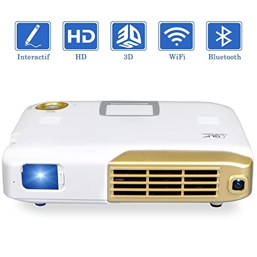 AI LIFE Proyector de Video Interactivo Mini proyector 3D Full HD ...