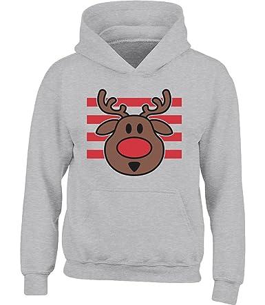 Herren Sweatshirt Merkel Weihnachten Weihnachtsmütze