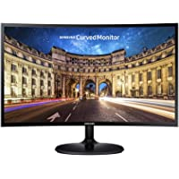 "Samsung 27"" Curved Full HD LED Monitor, Black, LC27F390FHEXXY"