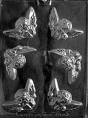 Cherubs Valentines Chocolate Mold - V121 - Includes Melting & Chocolate Molding Instructions