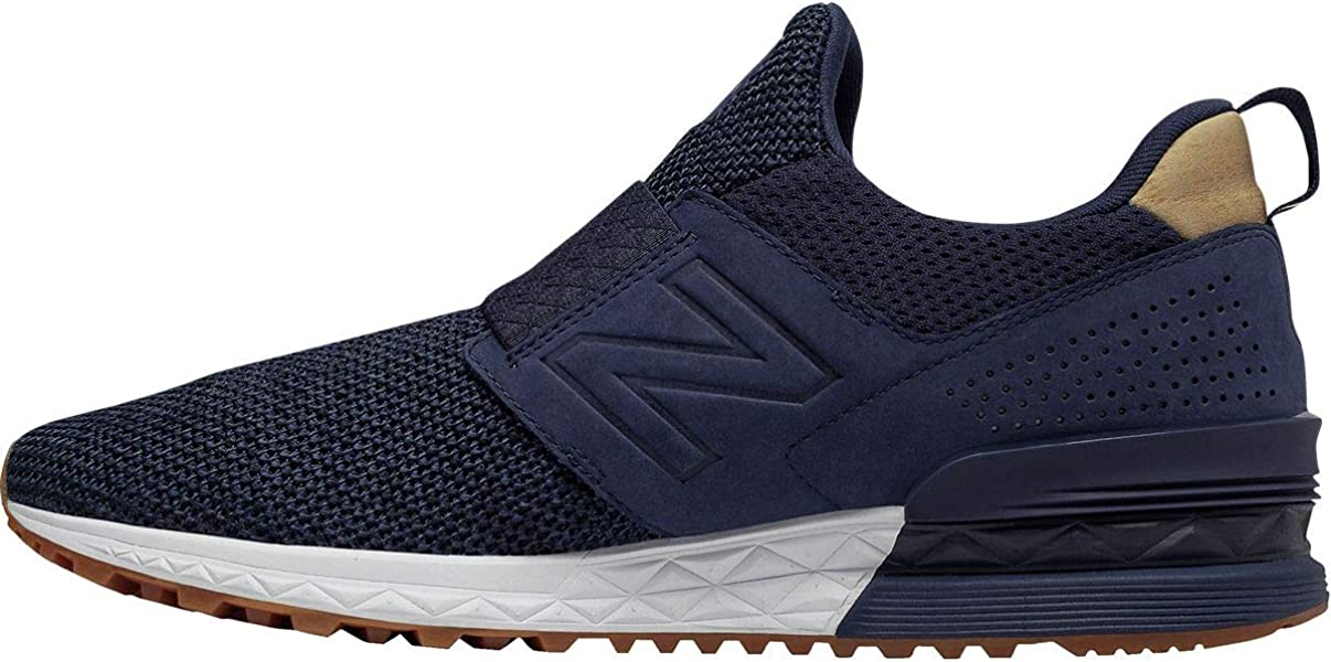 | New Balance 574S Slip on Blue | Shoes