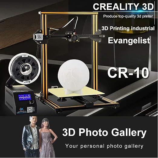 Laecabv Creality CR-10 3D Printer Impresora 3D - Gran ...