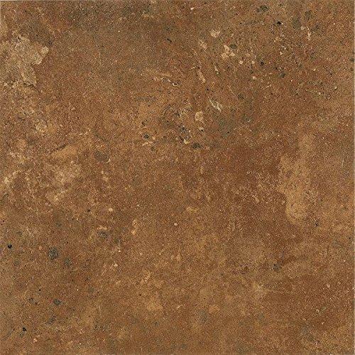 (Armstrong Aztec Trail Alterna Vinyl Tile Flooring, Terracotta/FPD2162261)