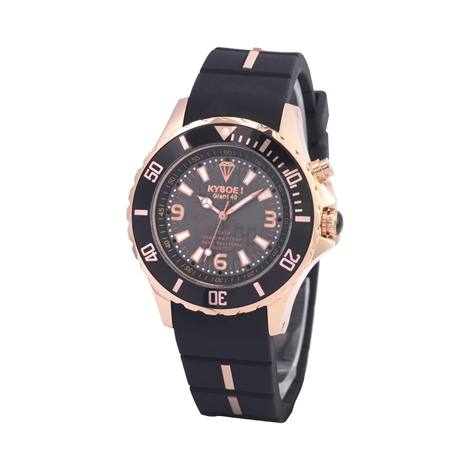 KYBOE! Rose Gold XS Series horloge RG-001 (40mm)