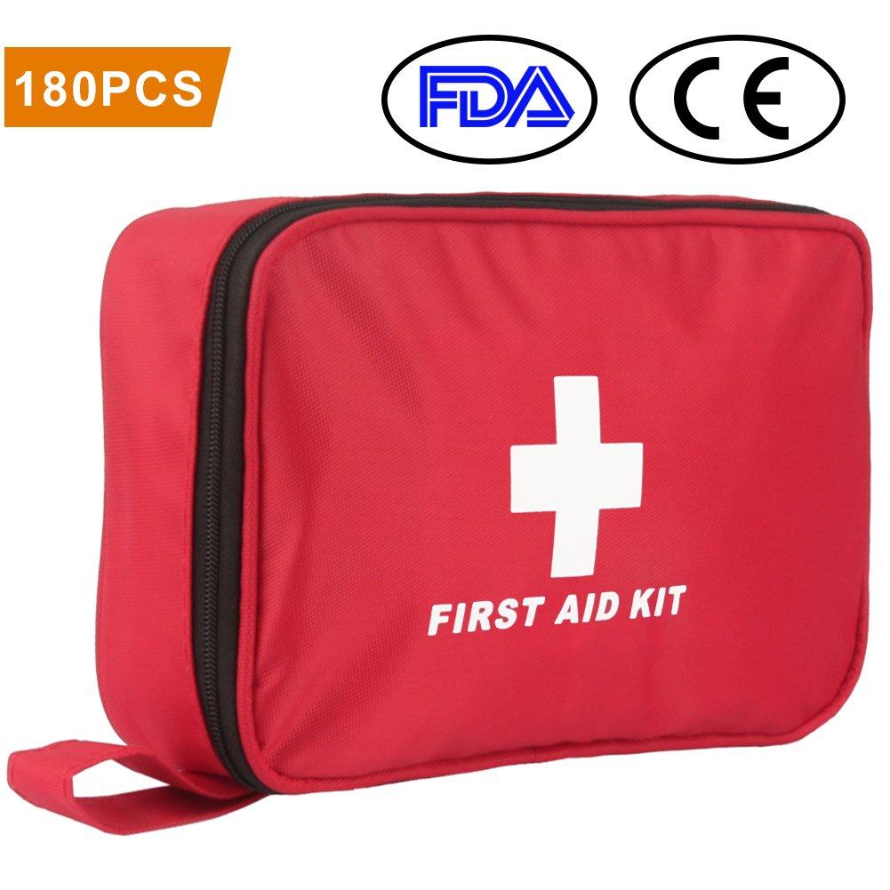 Botiquín de Primeros Auxilios de Piezas WEINAS® Kit de Primeros Auxilios Súper