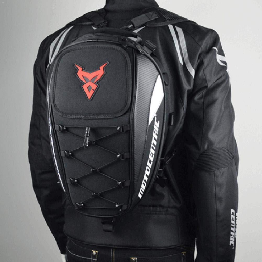 Motorcycle Helmet Storage Bag Motorcycle Waterproof Backpack Motorbike Rear Seat Super Light Tail Accessories Bags Famed Motorcycle Backseat Tank Backpack