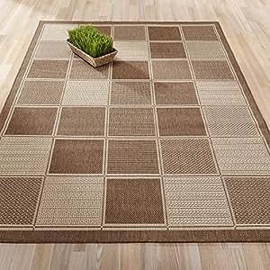 Amazon.com: Ottomanson Jardin Collection Brown ... - photo#47