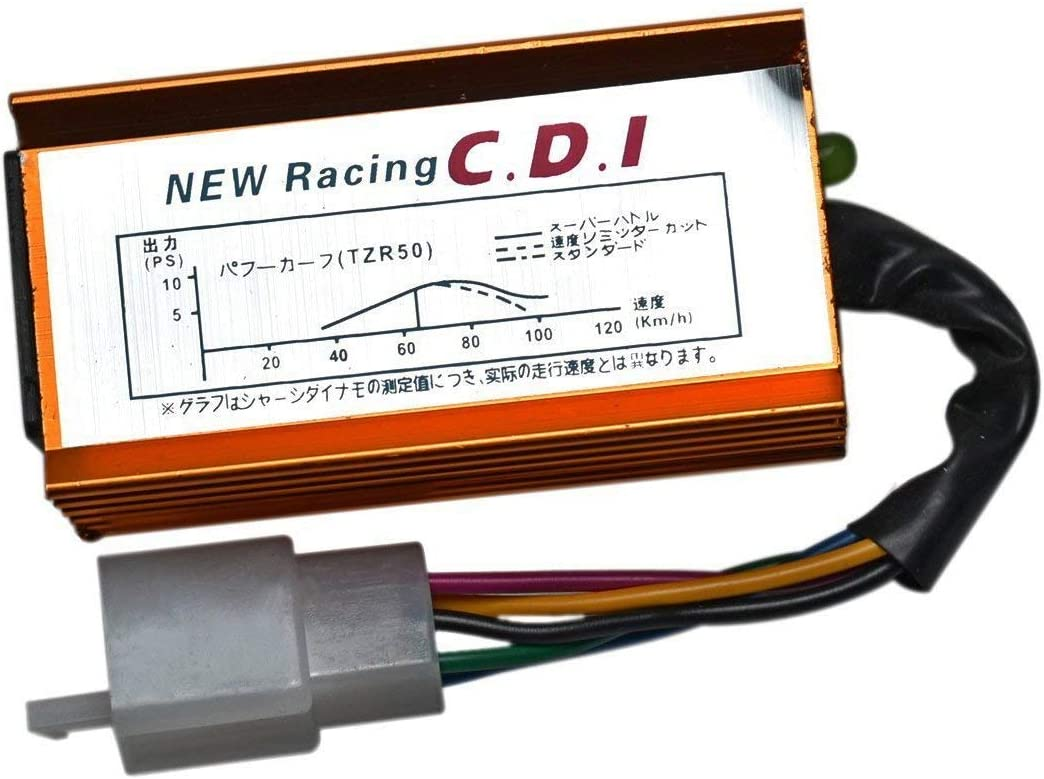 QUAD RACING PERFORMANCE CDI 5-PIN 90CC 110CC 125CC 140CC PIT DIRT BIKE ATV