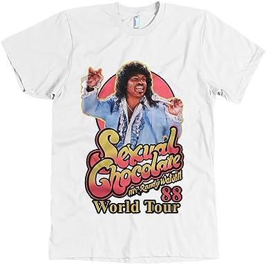 RANDY WATSON SEXUAL CHOCOLATE FUNNY COMING TO AMERICA 1980/'S RETRO T-SHIRT TEE