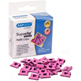 Rapesco Supaclip 40 Blinder Clip Refill Pack, Hearts, Pack of 100 Clips (1334)