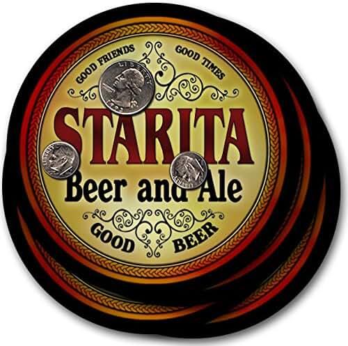 Starita Beer & Ale - 4 pack Drink Coasters