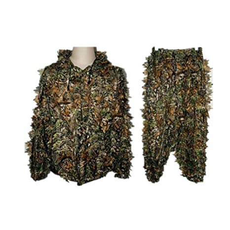 hinffinity Ghillie Suit 3D Traje De Camuflaje Woodland Ropa ...