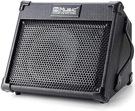 Coolmusic Amplificateur de moniteur personnel Bluetooth 20 W pour amplificateur clavier et guitare acoustique