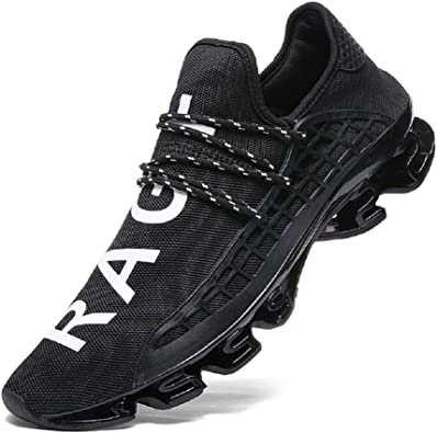 XIDISO Mens Running Shoes Womens Slip