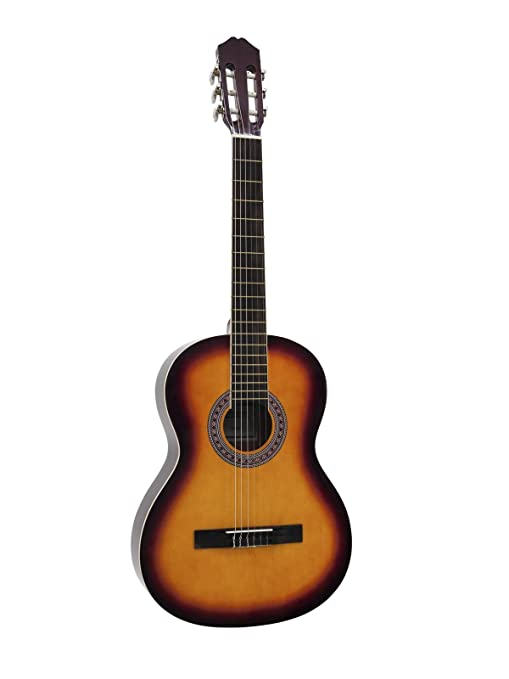 Guitarra de concierto FIDEL con bolsa para llevar, 4/4, color ...