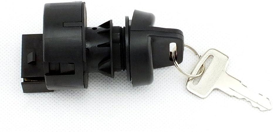 QAZAKY Ignition Key Switch For Polaris Predator Rally Scrambler Sportsman Trail Blazer Boss Worker Xpedition Xplorer Ranger 175 250 325 335 400 425 450 500 600 700