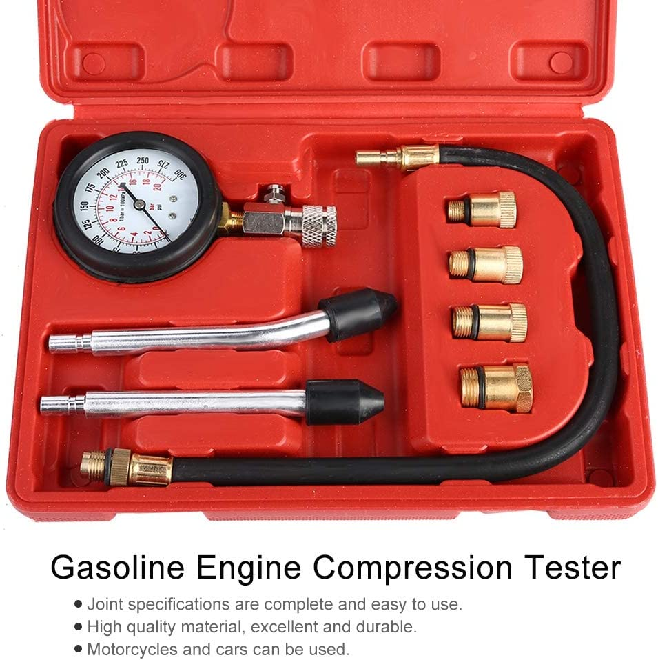 TOPSALE Automotive Kit De Testeur De Jauge De Testeur De Compression De Moteur /à Essence De Motos