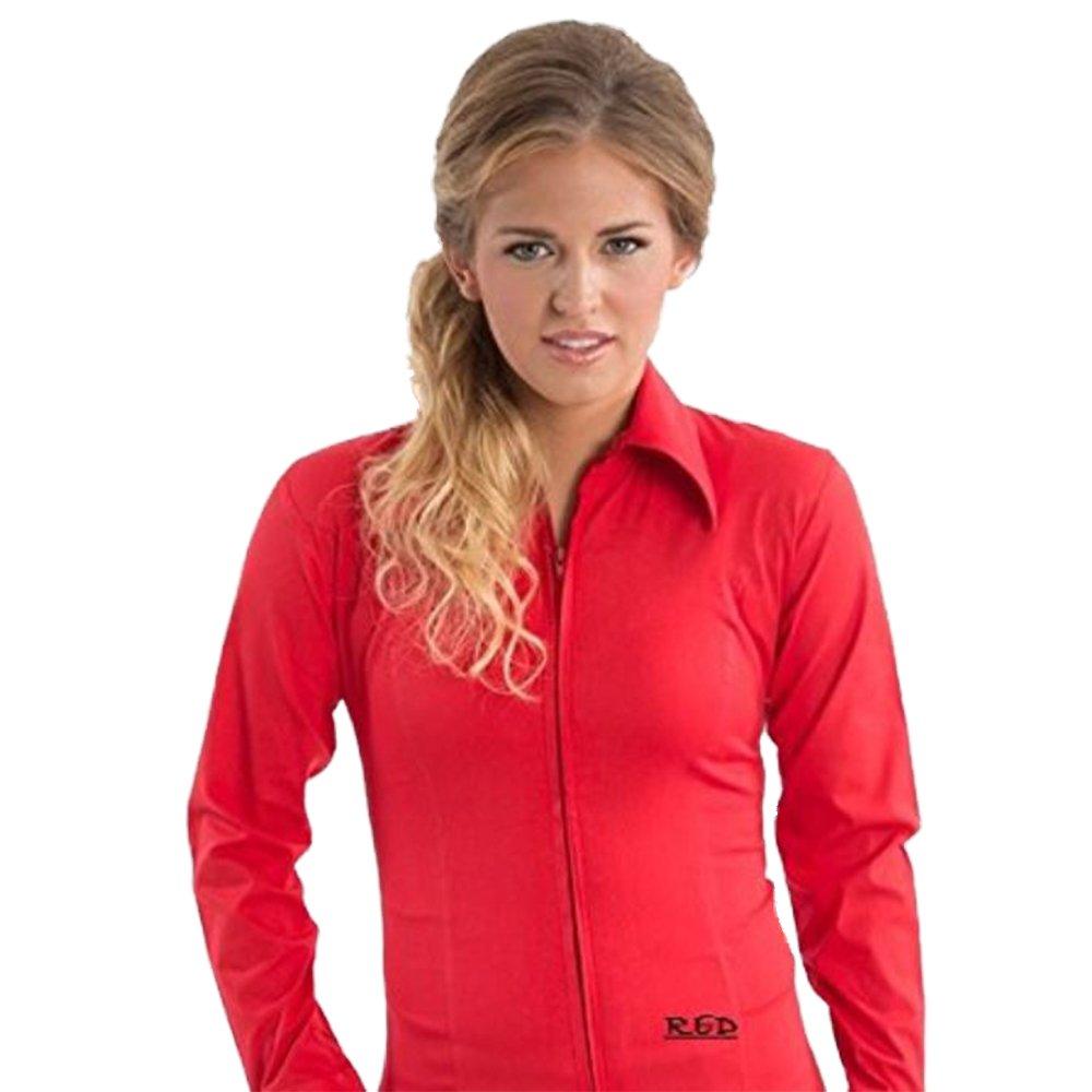 新しいコレクション Zip Up Up Fitted Fitted Showシャツ B013POY9LI Small レッド B013POY9LI レッド Small, 衣川村:d0821ff7 --- pangulfvalves.com