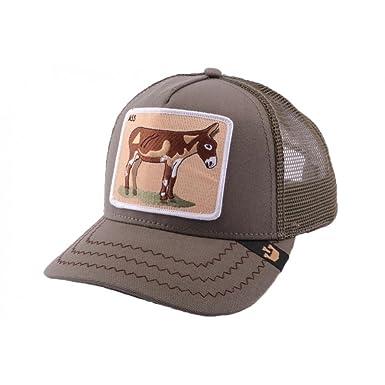 669232a007d1d GOORIN BROS - Casquette Trucker Goorin Bros Donkey Ass Olive - Vert Taille  unique Homme   Femme  Amazon.co.uk  Clothing