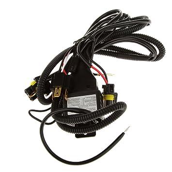 H4 Headlight Relay Wiring Harness System 2 Headlamp Light ... on
