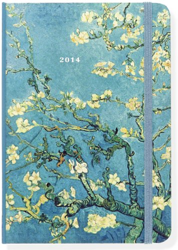 2014 Almond Blossom 16-Month Weekly Planner (Compact Engagement Calendar, Diary)