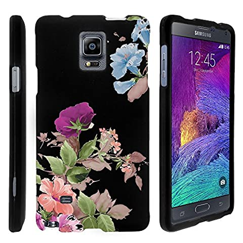 Note 4 Case, Slim Fit Snap On Cover with Unique, Customized Design for Samsung Galaxy Note 4 SM-G910 (AT&T, Sprint, T Mobile, US Cellular, Verizon) from MINITURTLE   Includes Clear Screen Protector and Stylus Pen - Promising (Cell Phone Covers For Samsung 4)