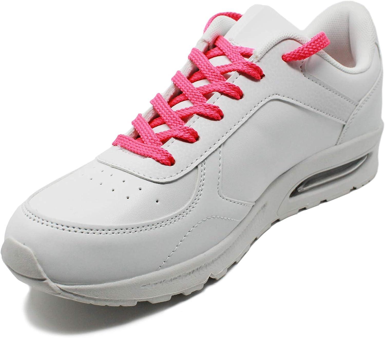 Laceter Cordones Planos para Calzado Ceportivo y de Running ...