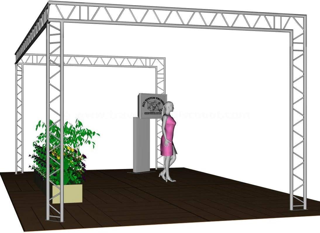 Feria Stand,U, 6 x 4 x 3 m, de 2 de puntos de Travesaños T290 – 2 ...