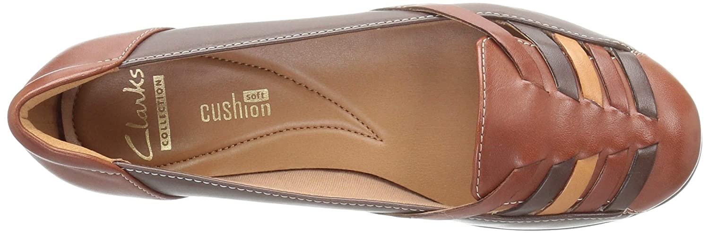 34627e951de9 Clarks Women s Gracelin Gemma Ballet Flats  Amazon.ca  Shoes   Handbags