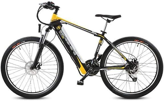 JAEJLQY Bicicleta de Montaña,Bicicleta eléctrica 48V Motor de Alta ...