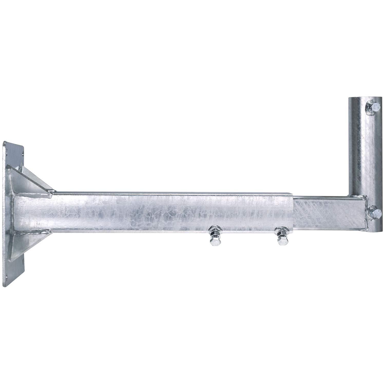 DUR-line WHSAZ 25cm T/ÜV gepr/üft SAT Wandhalterung f/ür Satellitensch/üssel Stahl Wandhalter aluverzinkt