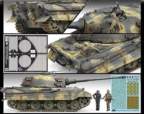 - Academy Hobby Model Kits Scale Model : Armor Tanks & Artillery Kits (1/35 German King Tiger Last Production)
