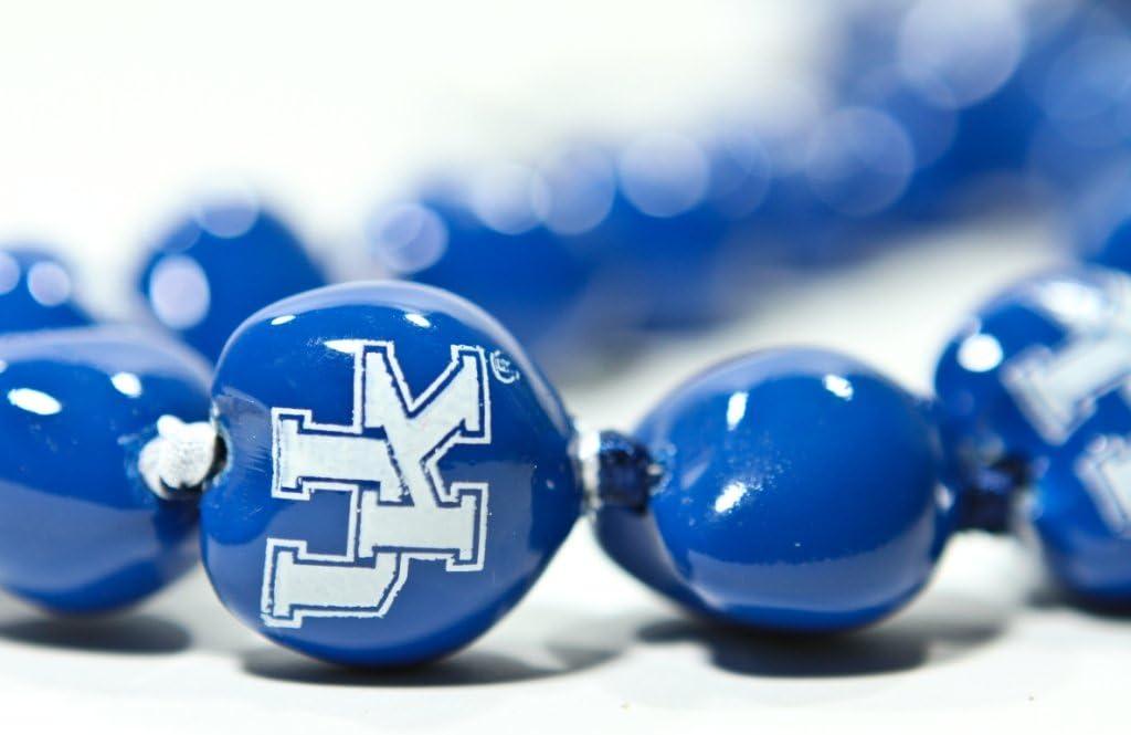 NCAA Kentucky Wildcats Go Nuts Kukui Nut Lei Necklace