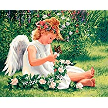 Dimensions Needlecrafts Paintworks Paint By Number, Darling Angel